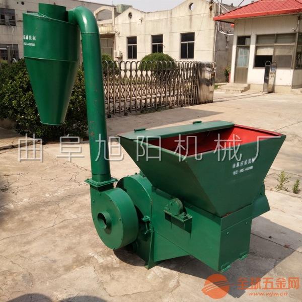 推荐旭阳家用玉米秸秆粉碎机 自动进料粉碎机 饲料加工设备