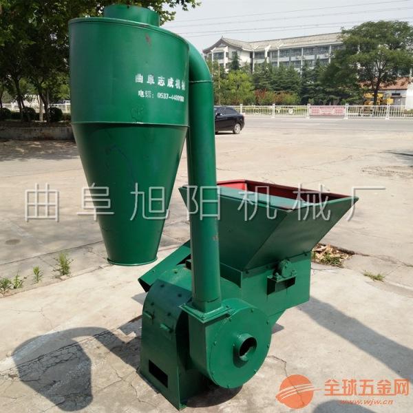 旭阳热销锤片式秸秆粉碎机自动除尘家用粉碎机养殖场玉米秸秆粉碎机