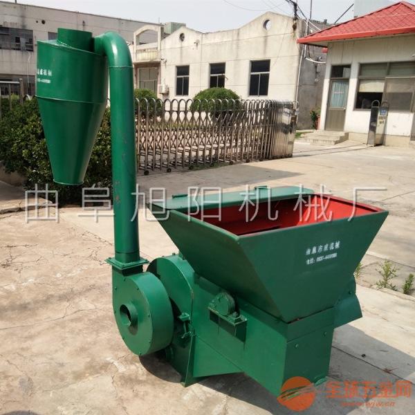 厂家直销自动进料沙克龙粉碎机鱼虾养殖饲料粉碎机秸秆杂草粉碎机