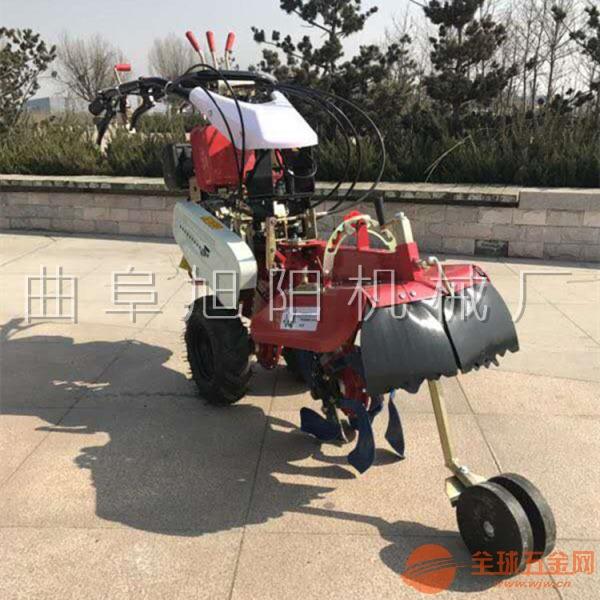柴油汽油耕地起垄开沟培土机 小型手推式高效多功能田园管理机