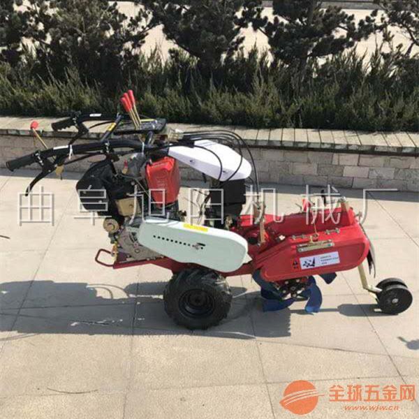 柴油8马力(173CC)手拉启动开沟机甘蔗培土机大棚开沟培土机
