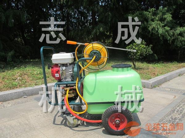 推荐100升拉管式汽油高压杀虫机 树木果园喷雾器