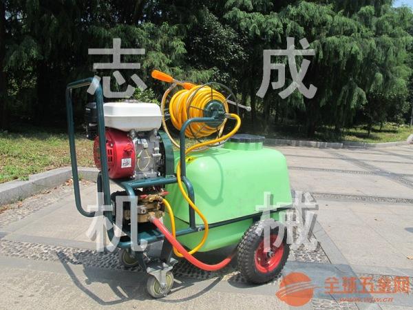 推荐100升拉管式汽油高压打药机 手推式杀虫机