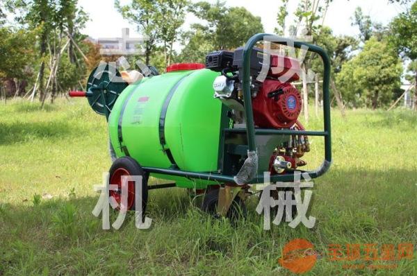 推荐160L汽油高压杀虫机 拉管式喷雾器 大棚果树打药机