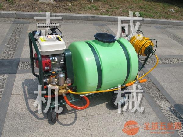 厂家直销160升拉管式打药机 汽油高压杀虫机 果树大棚杀虫消毒机