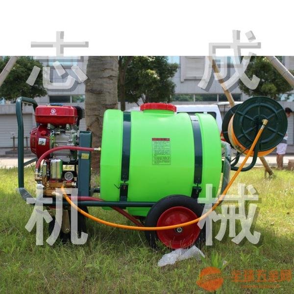 160升汽油高压杀虫机 拉管式大棚园林杀虫机 消毒除尘机