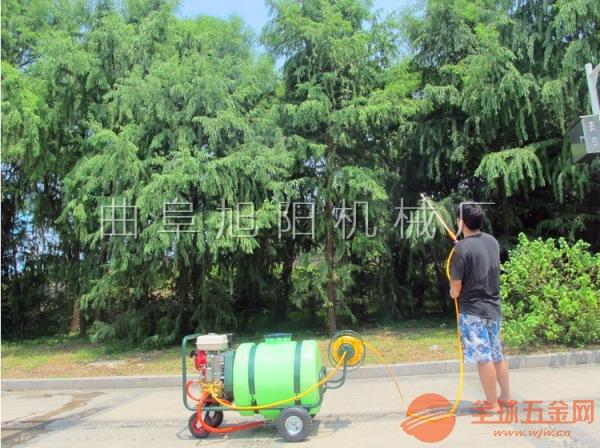 厂家直销汽油打药机推车式远射程喷药机养殖场消毒喷雾机