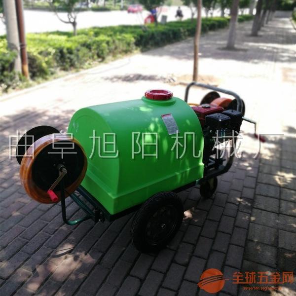 旭阳300L推车式喷雾打药机远射程城市绿化高压喷雾机