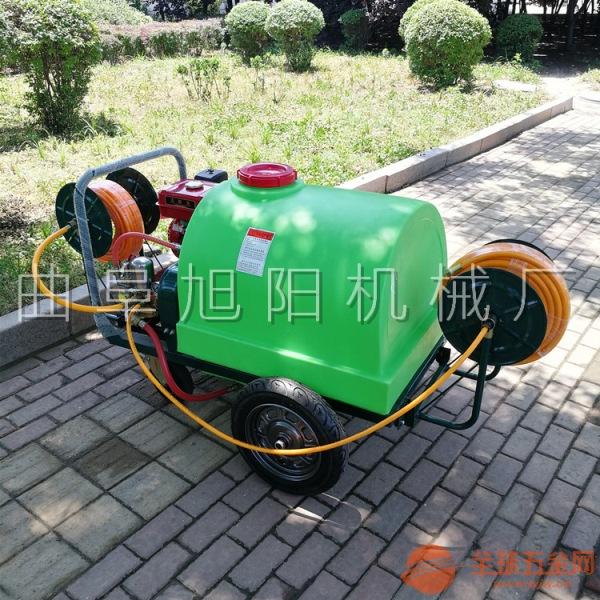 果园打药机手推式汽油高压农用打农药机器喷药机小型推车式喷雾机
