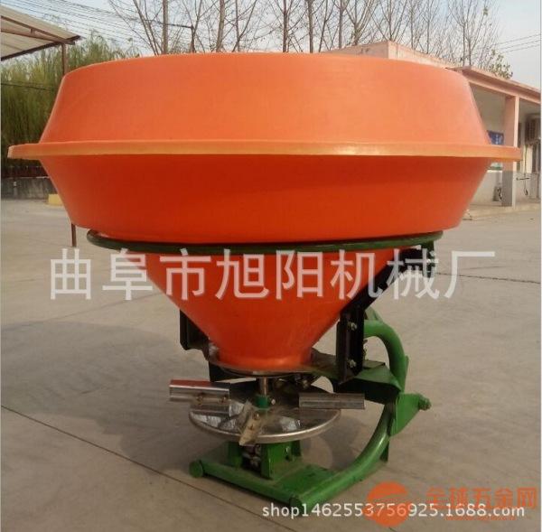 热销农用撒肥机拖拉机后置施肥器悬挂式小麦追肥撒播机旭阳机械