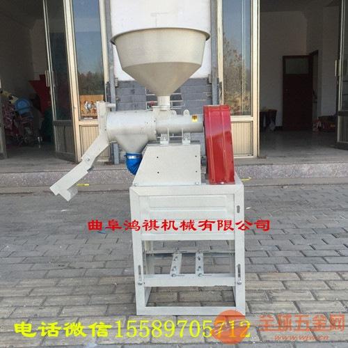 万秀区碾米筛糠机商用小米水稻磨米机