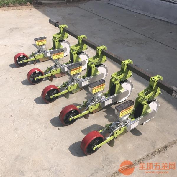 吴堡县单人手扶式播种机白菜稻谷精播机
