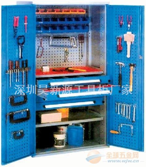 车间移动工具柜可按要求定做,惠州双开门带挂板重型工具