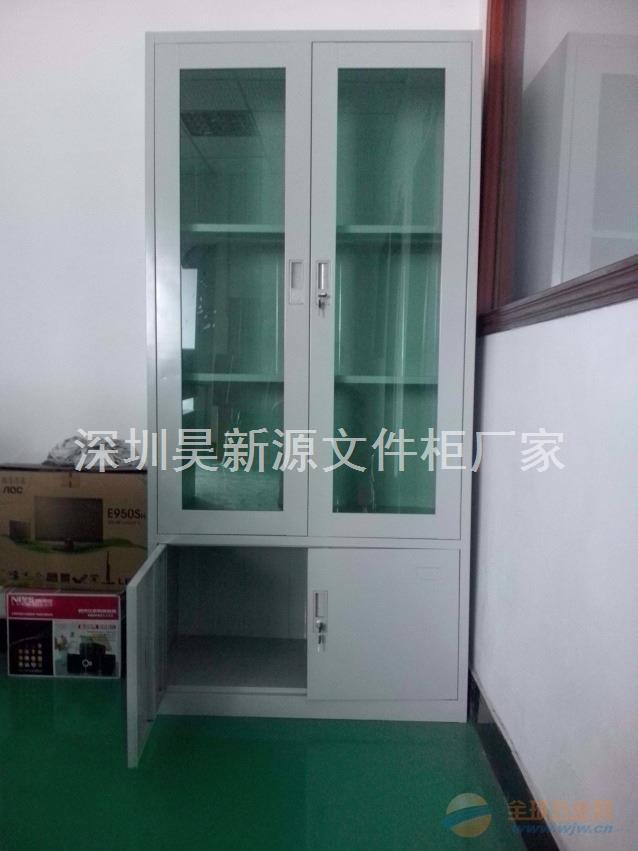 佛山工厂定制铁皮办公文件柜 钢制档案资料器械柜