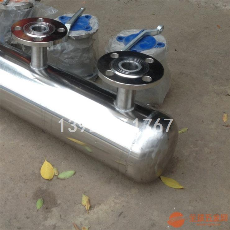 不锈钢集水器 法兰集水器 不锈钢法兰集水器定制