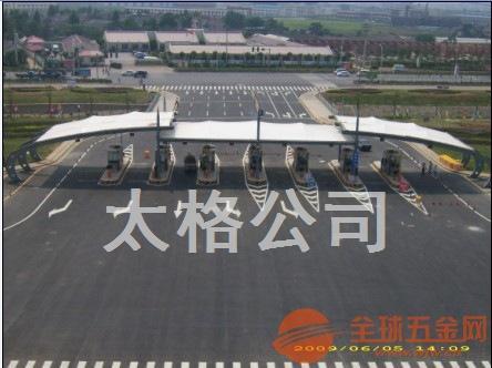 漳州豪华停车棚张拉膜结构