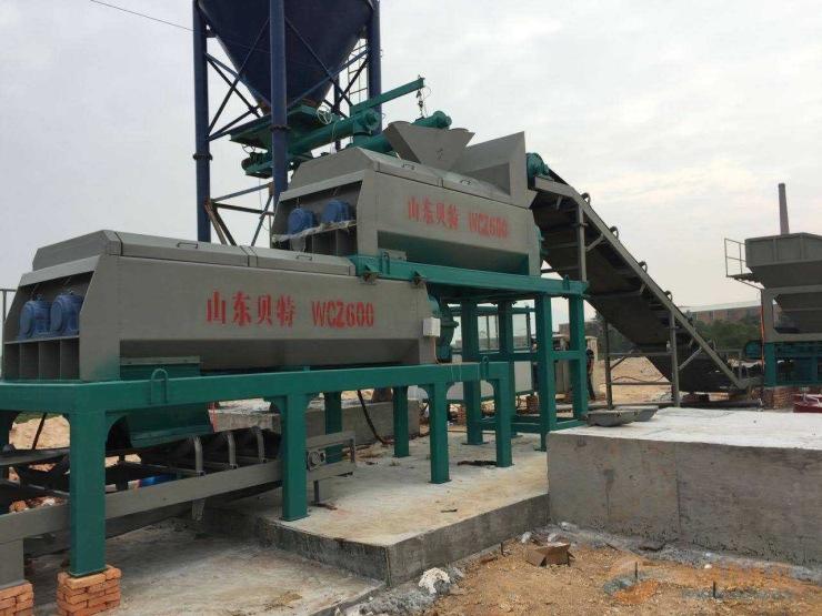 二次拌和设备稳定土搅拌站生产厂家300-700型
