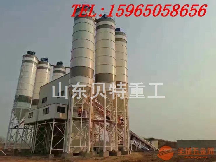 山东贝特HLS120型混凝土搅拌站厂家直销