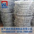 镀锌刺绳加工 围墙刺丝 刺绳护栏生产