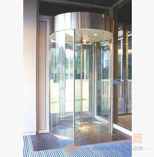 广州自动感应玻璃旋转门 厂家供应