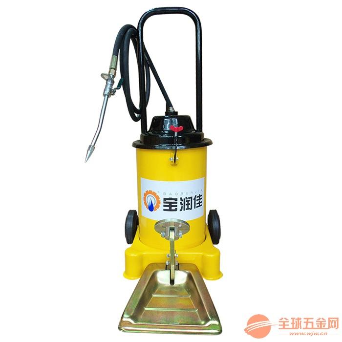 供应广东移动式68112型脚踏油脂加注机