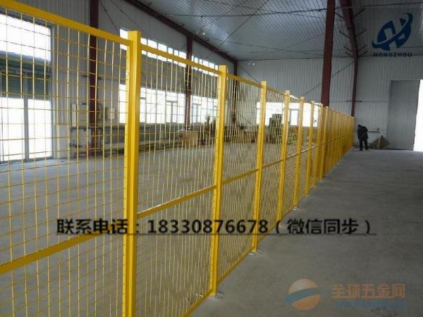 车间隔离铁丝网厂家@厂房护栏网价格@车间防护网规格