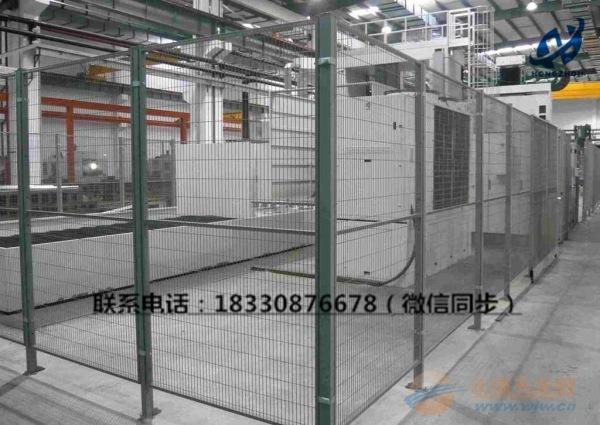 车间隔离防护网厂家@车间隔离护栏价格@现货供应