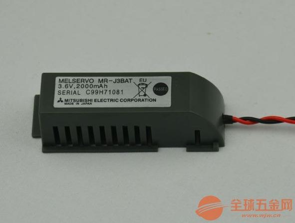 天津三菱伺服电池MR-BAT+MR-J4BAT现货供应