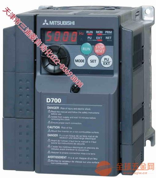 西青北辰三菱变频器FR-E740-11K-CHT安装+调试