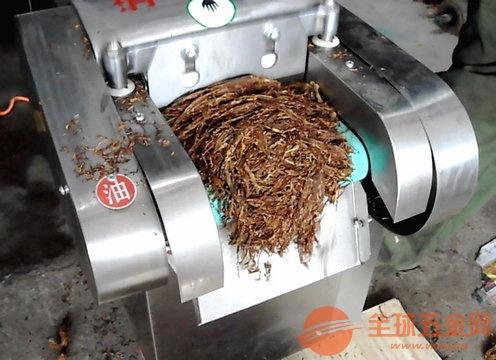 粗细可调烟叶切丝机电动荷叶切丝机