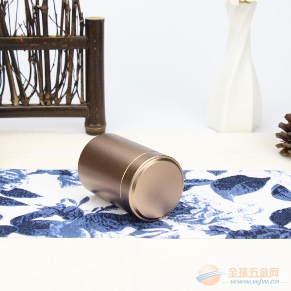 便携式小茶罐 钛铝合金茶叶罐一泡装氧化铝罐厂家批发
