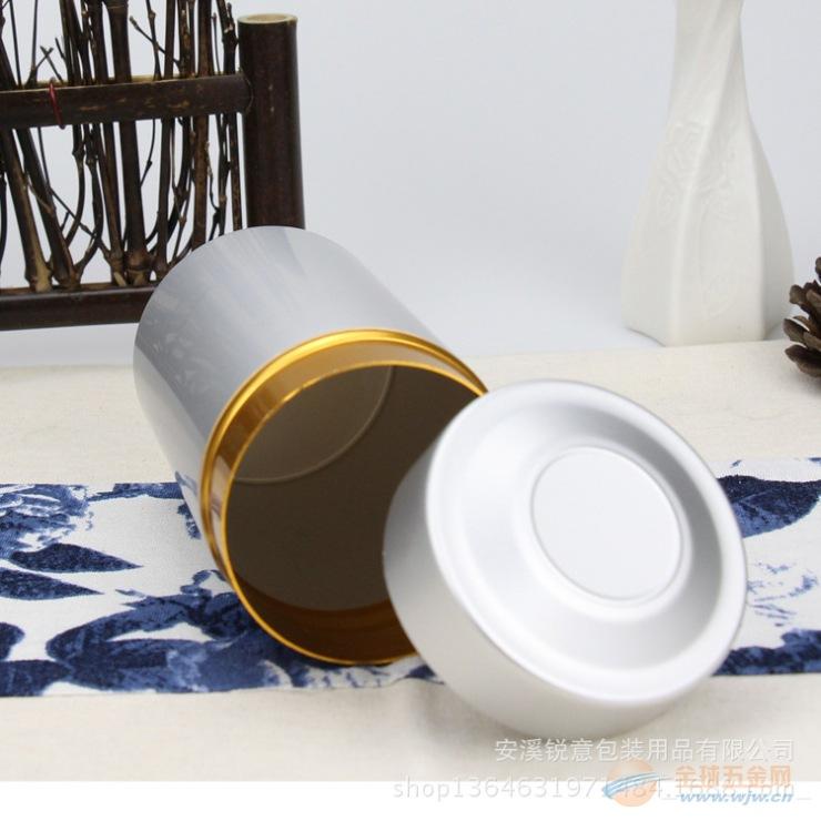 通版空白铝罐 银色金属罐 高档铝合金茶罐 可私版定制厂家直销