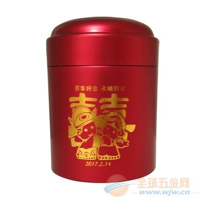 2017新品喜糖高端包装 纯铝制婚庆铝罐支持私版订做厂家直销
