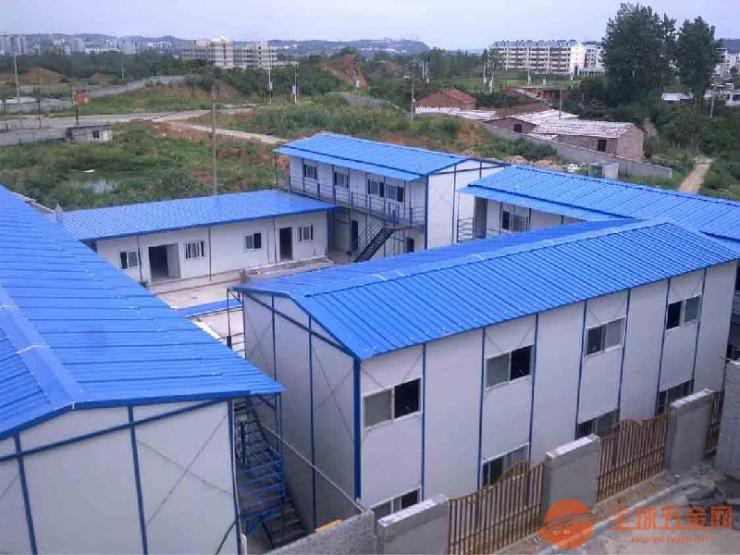 北京安装搭建彩钢活动房工地用彩钢房