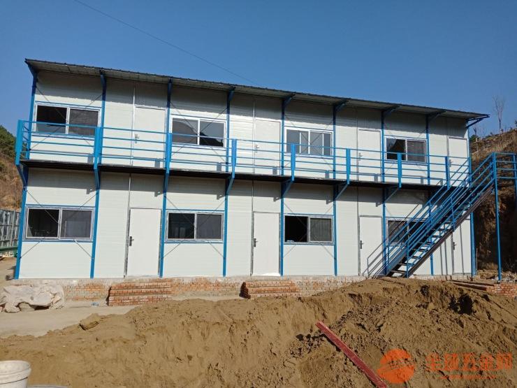 河北钢结构彩钢房邢台工地用活动房