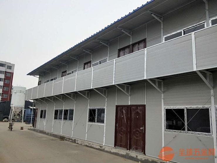 内蒙古抗风彩钢房赤峰搭建活动房