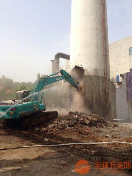 常州砖烟囱拆除方法