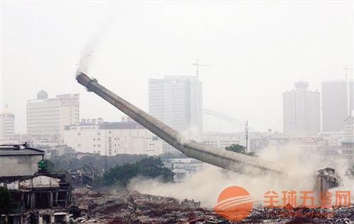 张掖水泥烟囱拆除公司