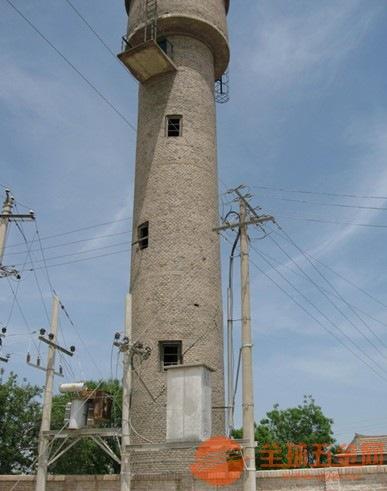 肇东砖烟囱拆除工程