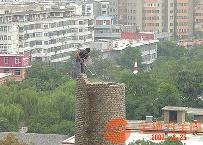 五大连池砖烟囱拆除价格
