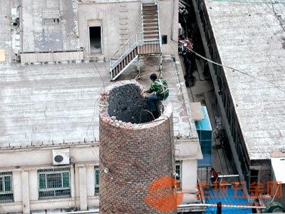 芙蓉区砖烟囱拆除价格
