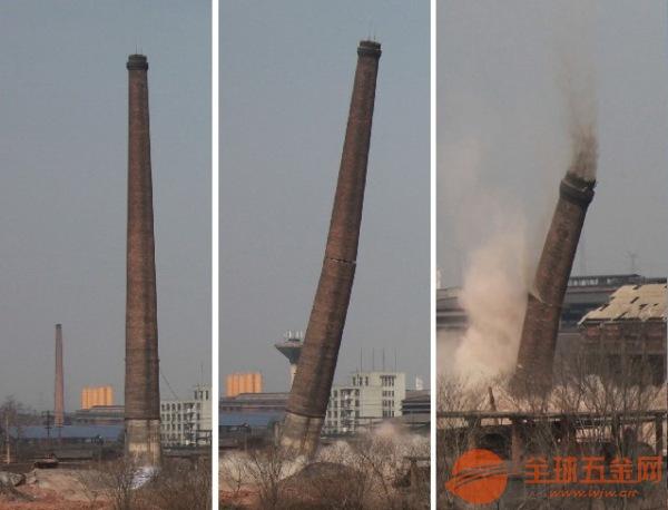 南通专业拆除水泥烟囱公司