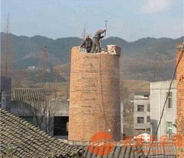西夏区人工拆除烟囱安全有保障