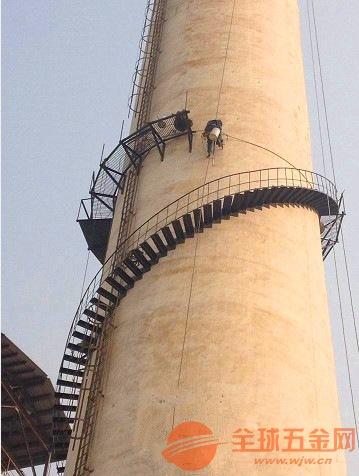 临朐县烟囱旋转爬梯安装公司欢迎访问