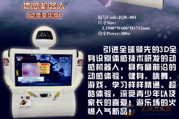 新款投币游戏机体感机器人