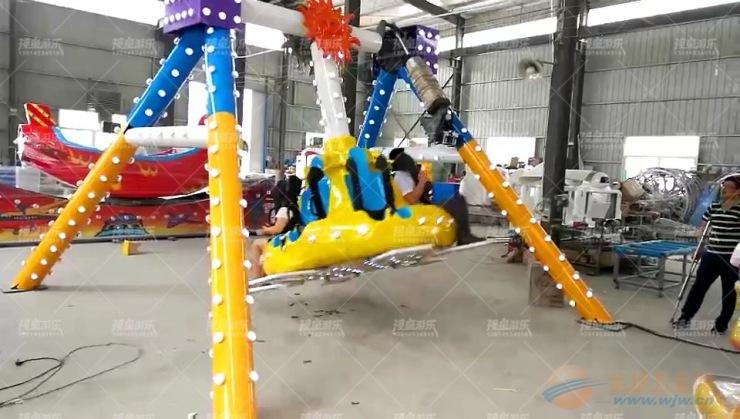 开儿童游乐场,选高质量小摆锤厂家到神童游乐