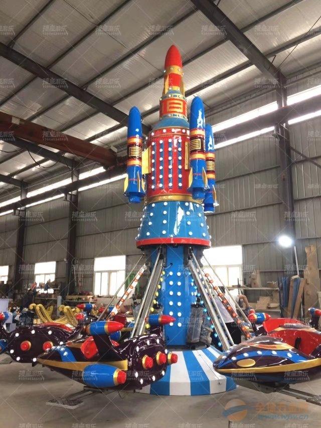 景区最火的游乐特色项目自控飞机儿童旋转升级飞机