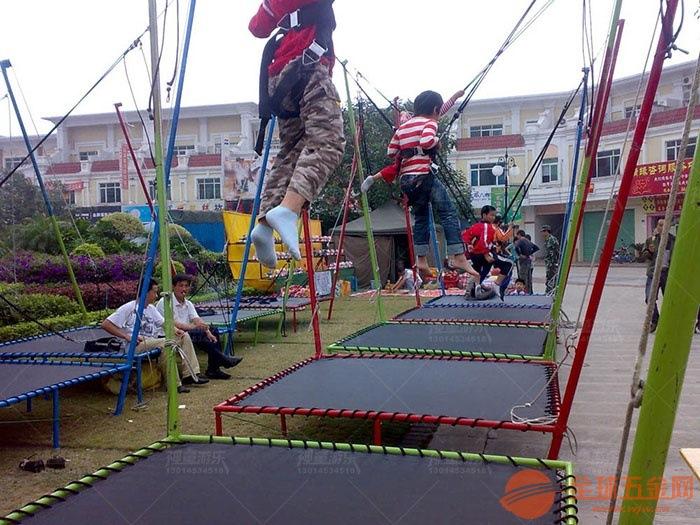 郑州神童儿童游乐设备厂家儿童蹦极项目