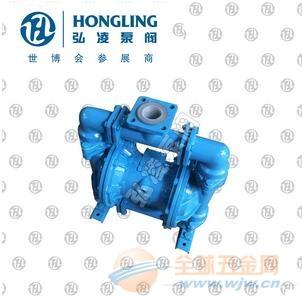 供应QBY-10CF46衬氟气动隔膜泵,衬氟电动隔膜泵