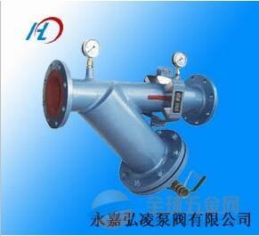 供应SYSG手摇刷式过滤器,氨气手摇刷式过滤器,液化气过滤器